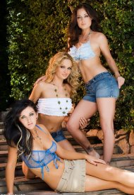 Мелисса, Принцесс и Сабрина