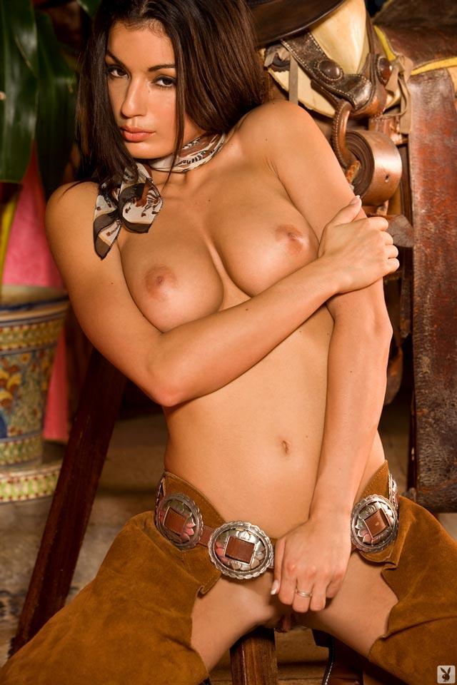 Фото девушка ковбой