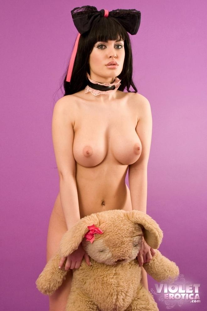 Мишка и большие сиьки