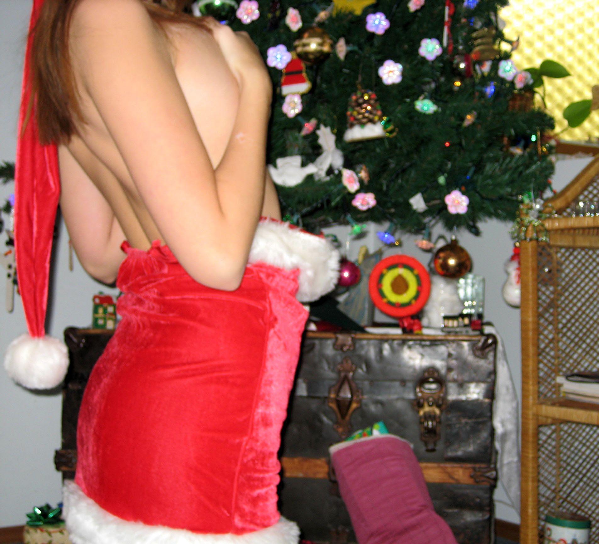 Новогодняя эротика любительское