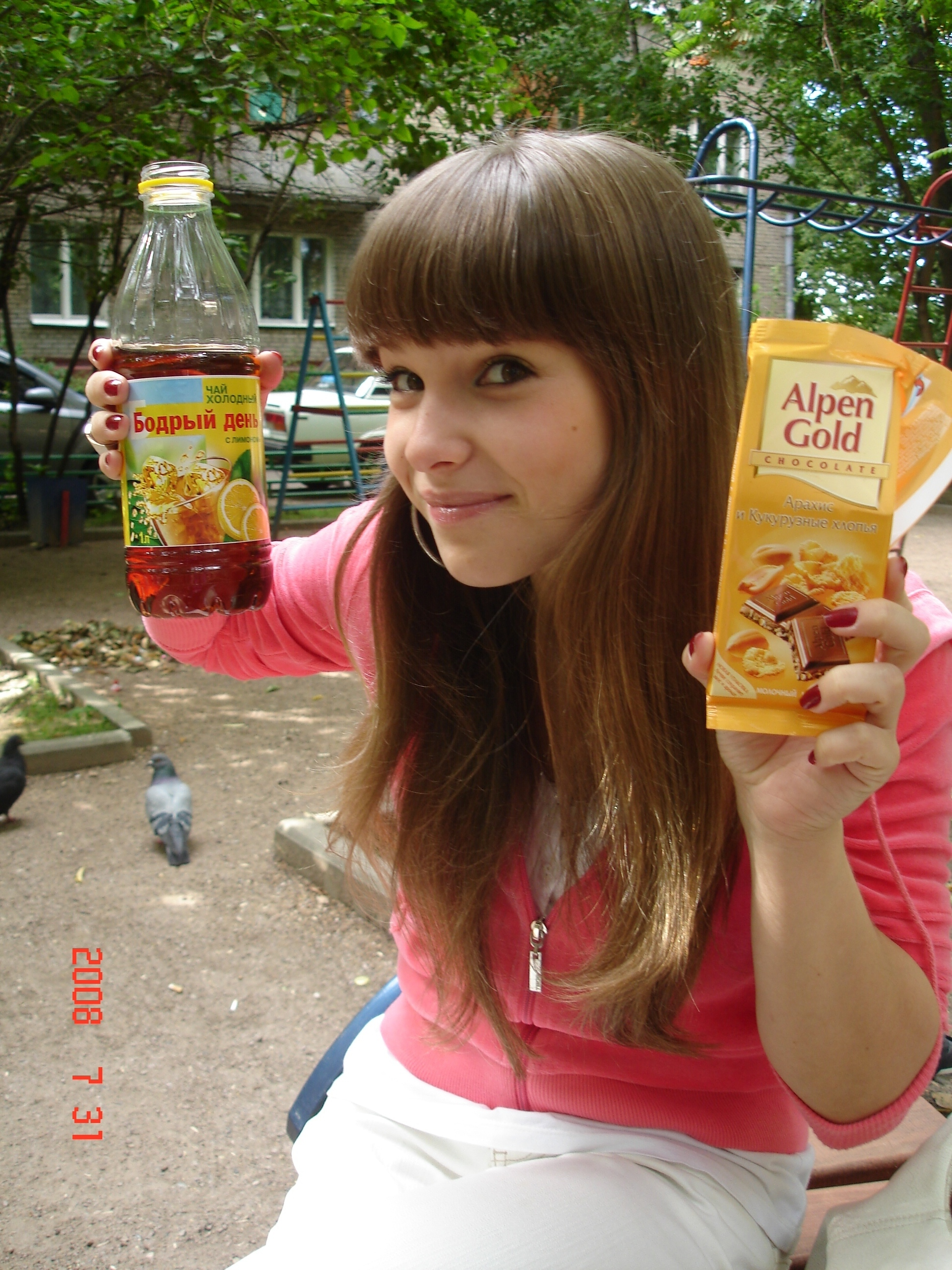 Русская девушка частное фото